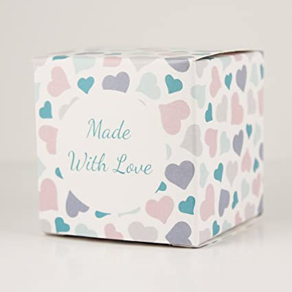 Amazon Made In Usa 2 Inch Cube Favor Box 2x2x2 Printed
