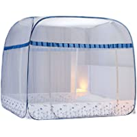 Mongolian Yurt Mosquito Net Household Free Installation Three Door Encryption Thickening Mosquito Protection 360 Degree Anti-Mosquito