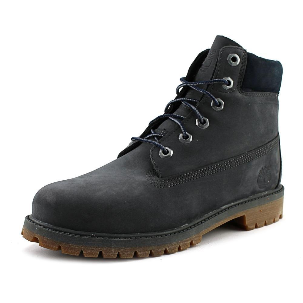 Timberland Kids Boy's 6'' Premium Boot (Big Kid) Forged Iron Waterbuck Boot 7 Big Kid M
