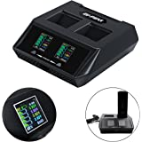hezhixin Yuneec Typhoon H Charger,6A 70W Dual Channel,Quick Intelligent Balance Charger, for Typhoon H 5400mA Battery