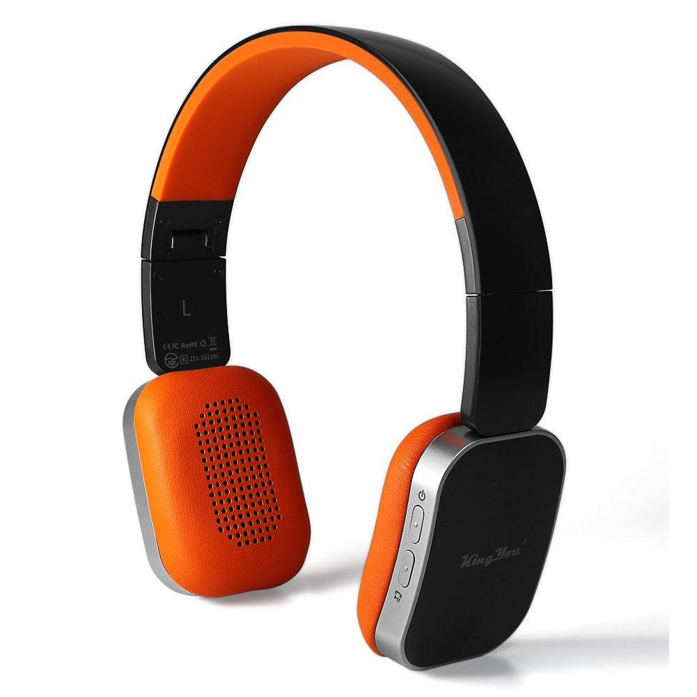 ワイヤレスヘッドフォン,おしゃれ,オレンジ,Amazon,bluetooth