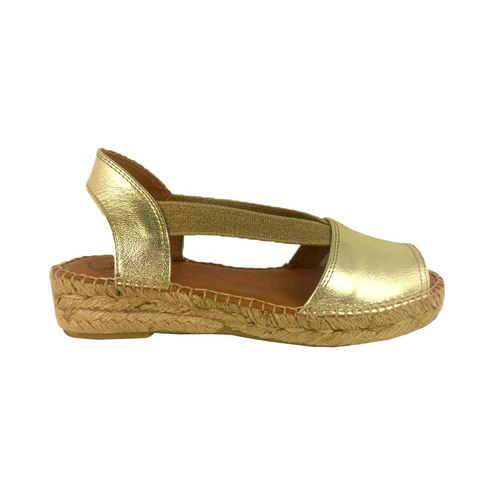 7b6d4c4b62a Toni Pons ETNA Espadrille 41 Gold: Amazon.co.uk: Shoes & Bags