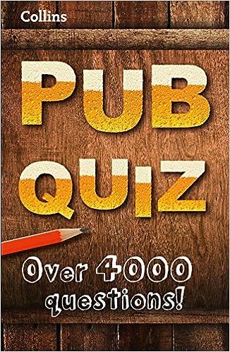 Collins Pub Quiz (Quiz Books): Amazon co uk: Collins