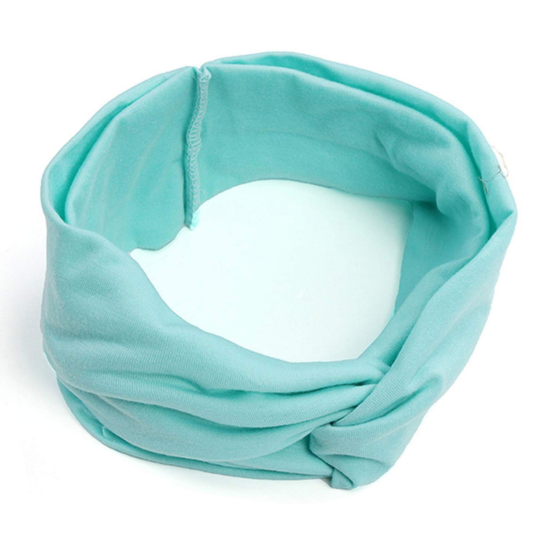 Turban Headband For Women Headbands Headwrap Hairband Headwear Bandana Hair Accessories Gifts,Lakeblue