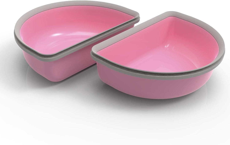 SureFeed - Cuenco (2 Unidades), Color Rosa