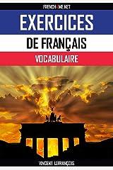 Exercices de vocabulaire # Français-Allemand:  293 Exercices pour découvrir 3809 mots (German Edition) Kindle Edition