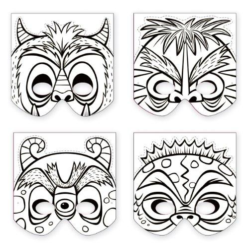 Mudpuppy Monsters Make-a-Mask