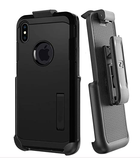 Encased Belt Clip Holster for Spigen Tough Armor Case - Apple iPhone Xs MAX (case not Included)