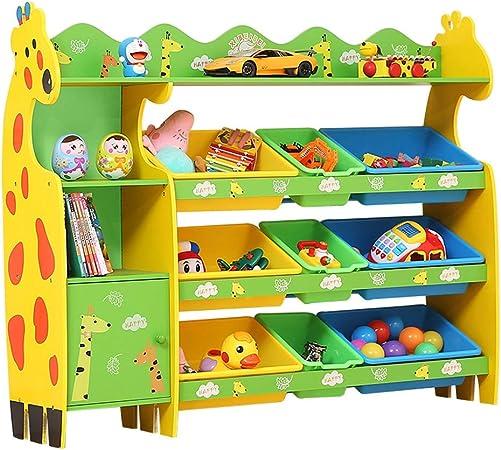 Estante de Almacenamiento de Juguetes para niños Armario para Almacenamiento de bebés Marco de Acabado jardín de Infantes Almacenamiento de Libros de Imagen (Color : U): Amazon.es: Hogar