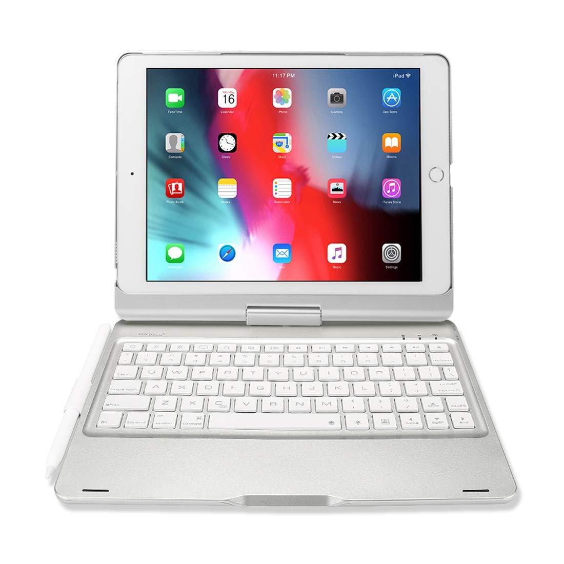 【オープニングセール】 DUX 白 DUCIS iPad B07R2FKTRB 9.7インチ用超薄型ABSワイヤレスキーボード保護ケース ハイクオリティ DUX (色 : 白) 白 B07R2FKTRB, プリザーブドフラワー花材アミファ:109a650b --- a0267596.xsph.ru