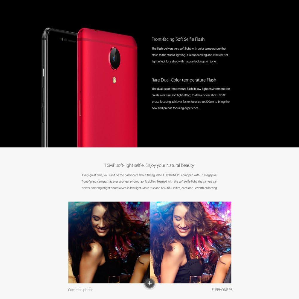 elephone P8 4G Android 7.0 6 GB de RAM + 64 GB de ROM 5,5 ...