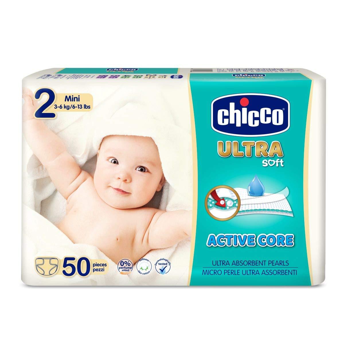 Chicco Chicco Ultra Soft 2-5 kg Talla 1 Pack 27 pa/ñales ultra absorbentes Newborn 27 ud Pa/ñales Maxi 2-5 kg 27 ud