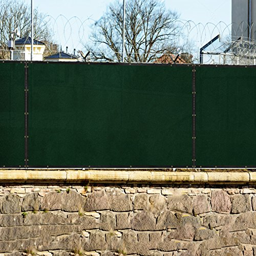 Windscreen4less 6 X 25 Privacy Fence Screen In Green