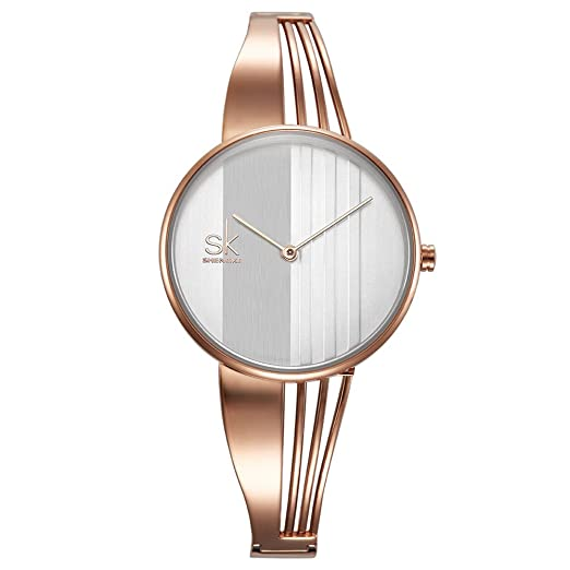 694db1b1420 SK Elegant Women Watches Diamond Face Crystal Luxury Female Watch Relogio  Feminino (K0062-Rose