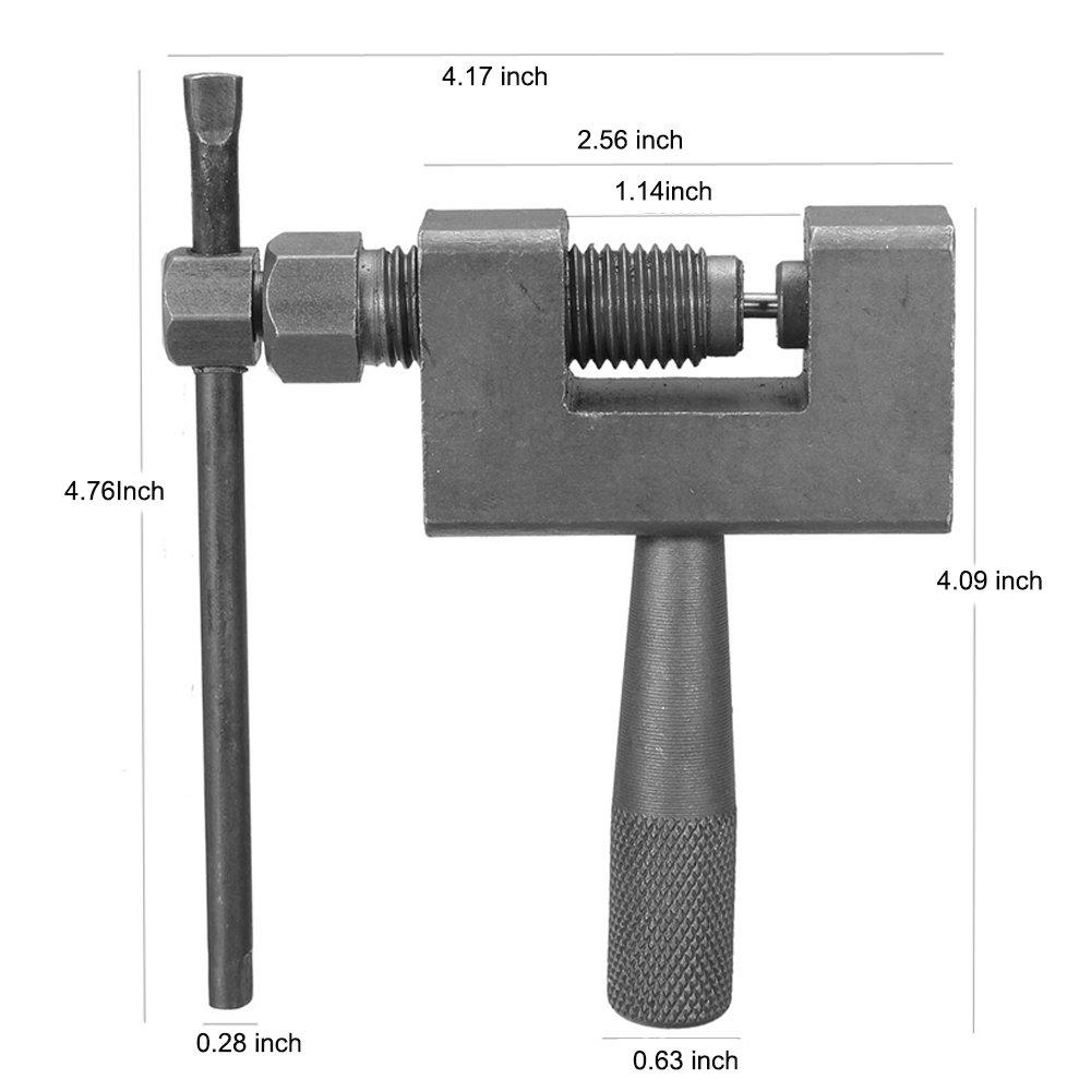 Mumaxun Motorcycle Bike Heavy Duty Chain Breaker Cutter Tool 415 420 428 520 525 530 630 by Mumaxun (Image #6)