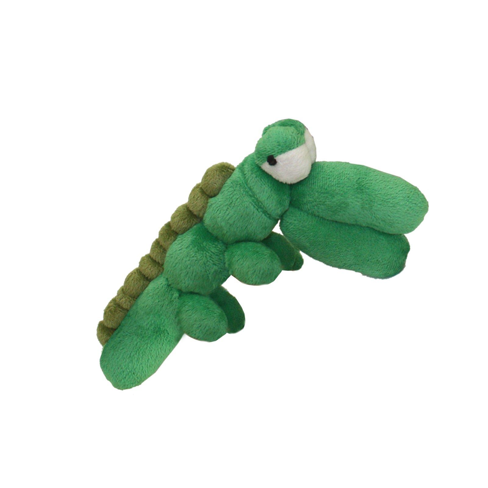 Multipet Balloon Animal Dinosaur Plush Dog Toy, 10''
