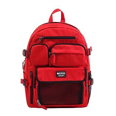 3bb28c8b99e0 [バイモス]BYMOSS マキシマム リュック 11シリーズ(Maximum Backpack 11Series) (レッド)