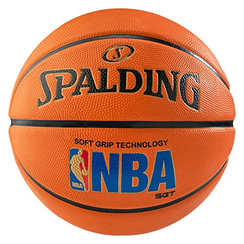 2 opinioni per Spalding, Palla da basket Nba Logoman Sponge Out, Arancione (Orange- orange),