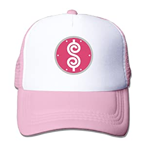 Trucker The Price Is Right Show Adjustable Mesh Back Baseball Cap Pink