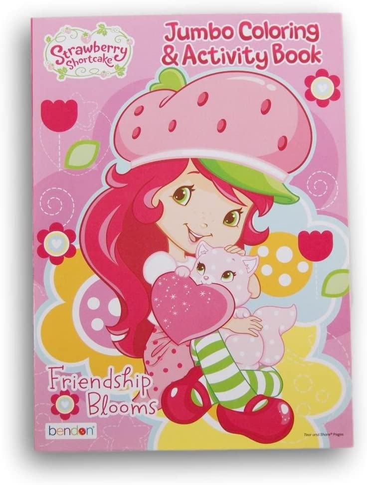 - Amazon.com: Bendon Publishing International Strawberry Shortcake Color And Activity  Book - 64 Pages: Toys & Games