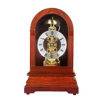 Nice HENSE Regulator Mechanical Wind Up Mantel Chime Clocks,For Living Room  Decorative Solid Wood