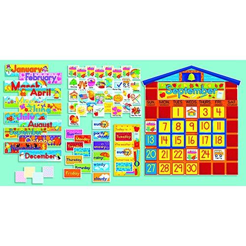 时间概念很重要,Scholastic早教儿童日历板套装