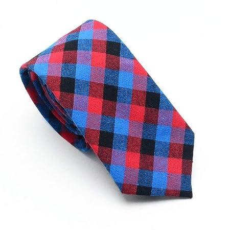 6 cm de Corte Estrecho Corbata Formal Fiesta de Bodas Auto Empate ...