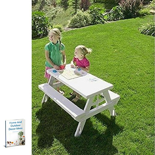 Collapsible Picnic Table,Outdoor Indoor Lawn Garden Yard,Portable Folding & Ebook By Easy2Find