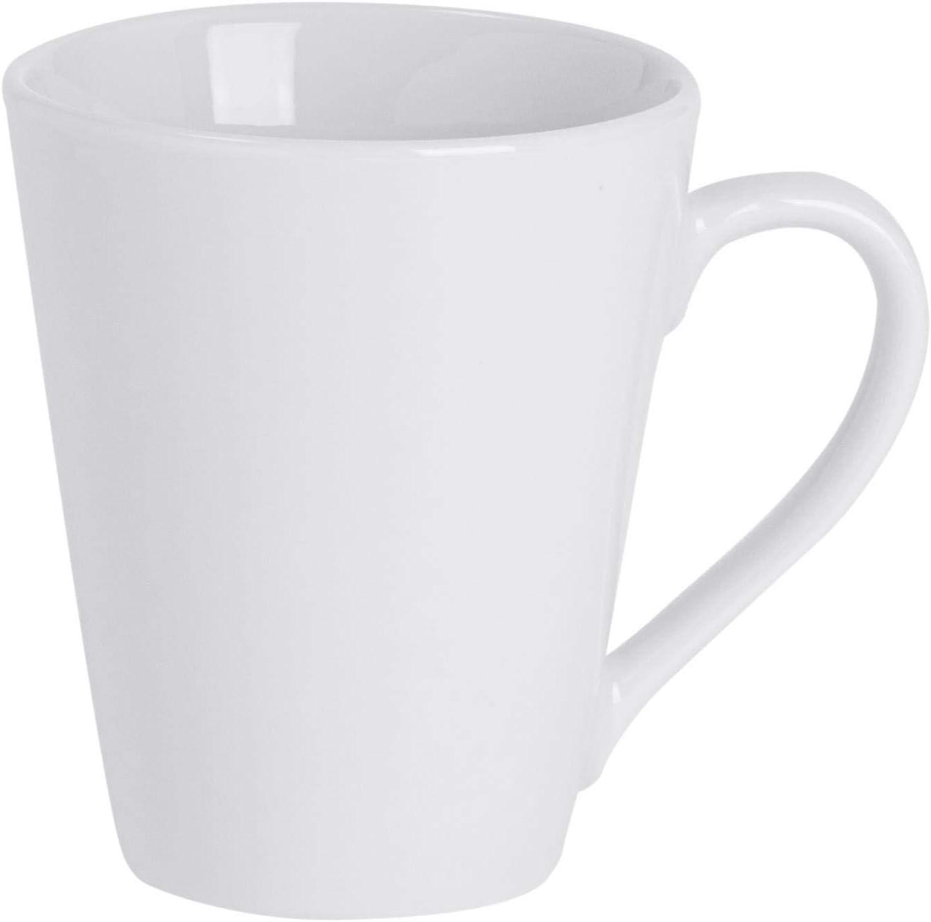 Argon Tableware Juego de Tazas Blancas para el café o té - 285 ml - Pack de 12: Amazon.es: Hogar