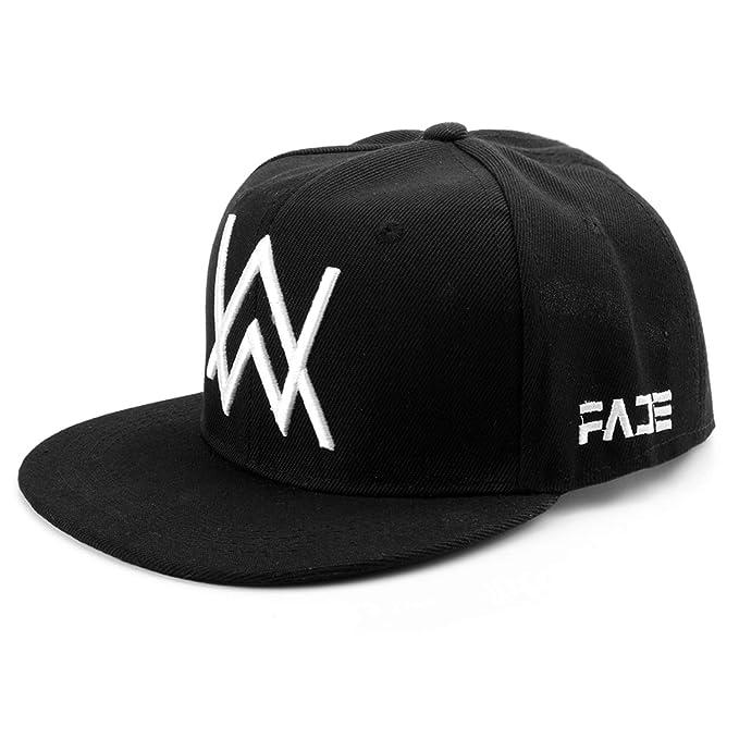a4b44472e5b Alan Walker Mask Baseball Cap Adjustable Black Caps Women Men Sport Outdoor  Riding Hats Mask at Amazon Men s Clothing store