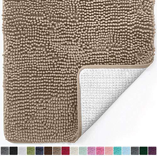 Gorilla Grip Original Luxury Chenille Bathroom Rug Mat ,