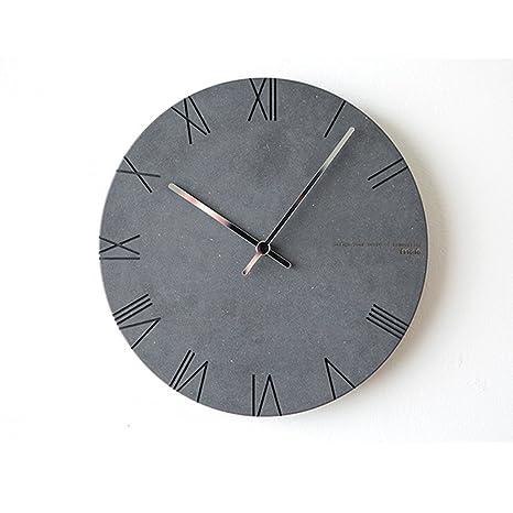 Reloj de pared de cuarzo, moderno y simple, reloj de pared con reloj de