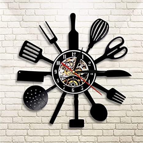 Cuchillo de cocina tenedor cuchara iluminación led juego de cocina ...