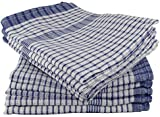 Majestic Linens Wonderdry Tea Towels Blue Pack of 10 100% Cotton
