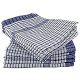 Wonderdry Tea Towels Blue Pack of 10 100% Cotton