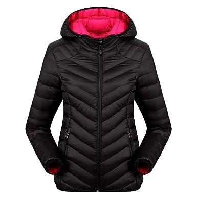 70c6677afa50 Zhuhaitf Winter Women Thick Down Cotton Hooded Coat Outdoor Warm ...