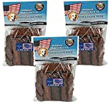 (3 Pack) Wholesome Hide Chunkees Rawhide Chews 8oz