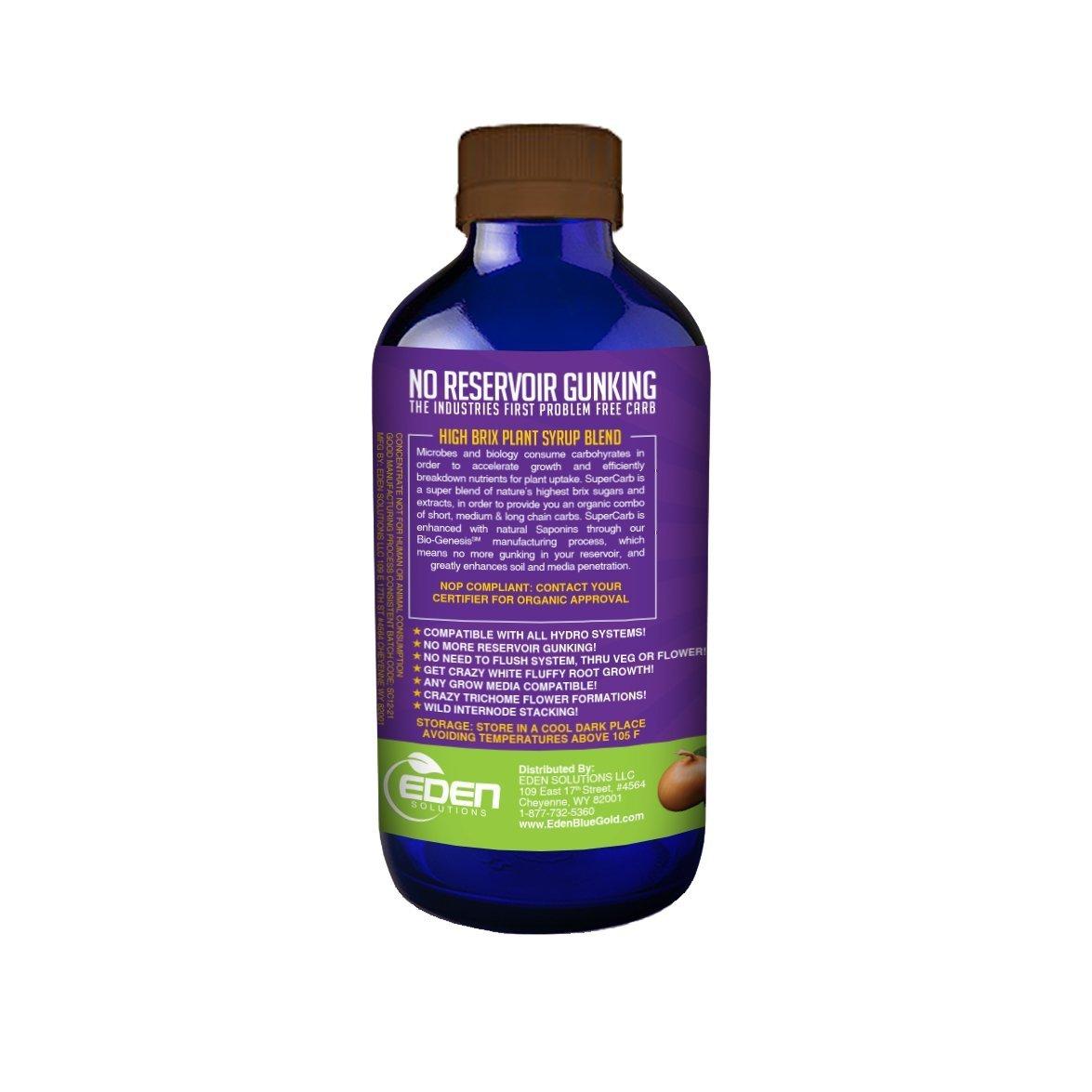 Blue Gold Super Carb, Organic Plant Syrup Enhanced Molasses, Concentrate 8  fl  oz  Bottle