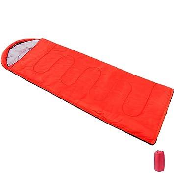 Cálido camping techo saco de dormir 210 x 75 cm – Saco de dormir para adultos