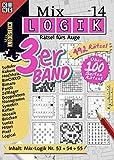 Mix-Logik 3er-Band Nr. 14 (Mix Logik 3er-Band / Logik-Rätsel)