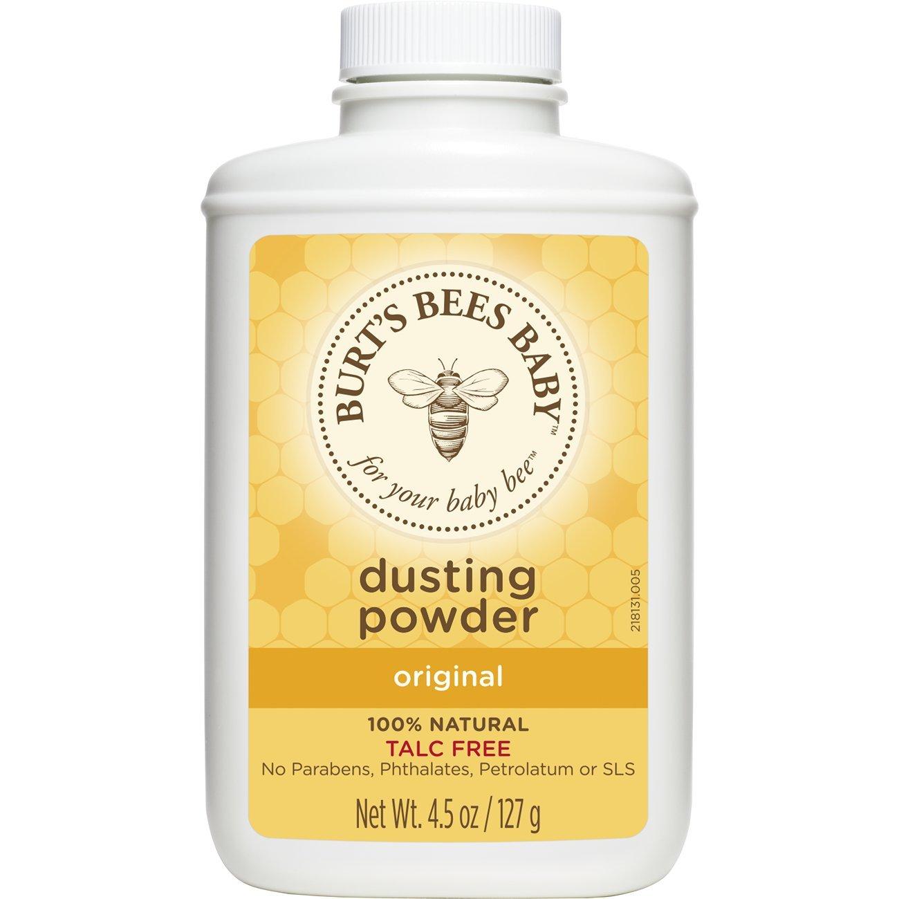Burt's Bees Baby 100% Natural Dusting Powder, Talc-Free Baby Powder - 4.5 Ounce Bottle by Burt's Bees Baby