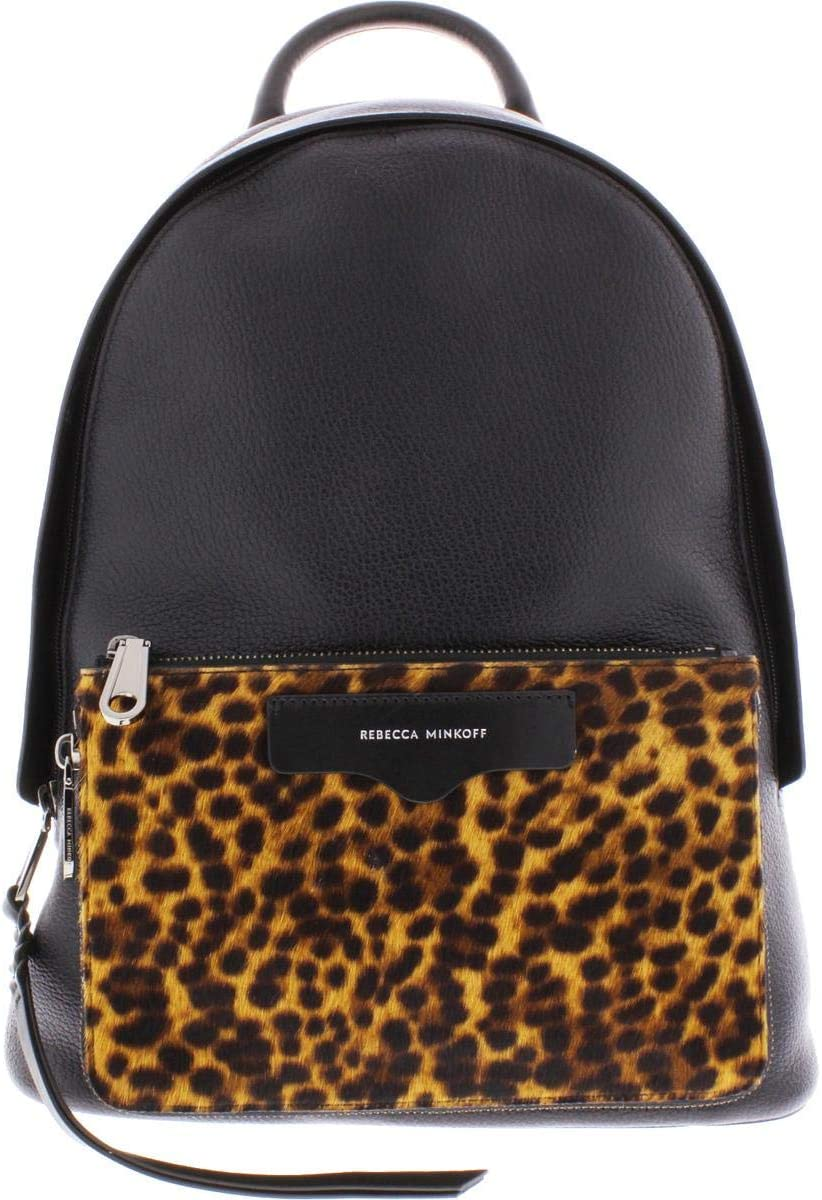 Rebecca Minkoff Emma Backpack Leopard One Size
