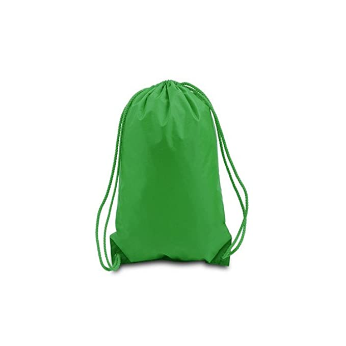 82666eb30d1 Amazon.com    PACK OF 25  Bulk Polyester Drawstring Bags, Wholesale Cinch  Bags, Quality Sack Packs   Drawstring Bags