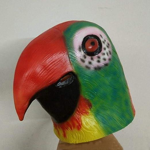 Littlefairy Máscara Halloween,Tienda de Bolas de látex Color Loro ...