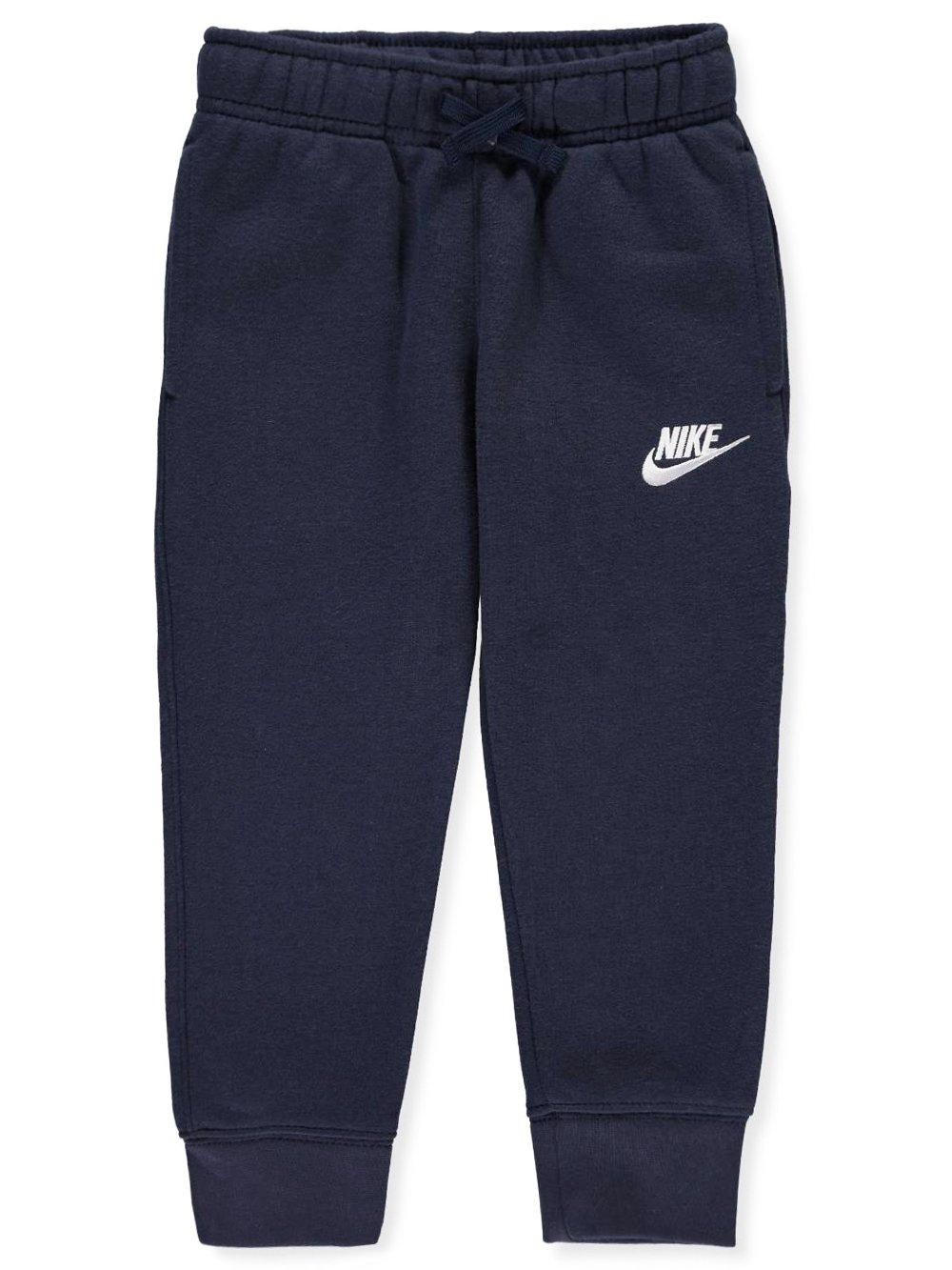 Nike Little Boys Fleece Jogger Pants (Sizes 4 - 7) -Obsidian, 6