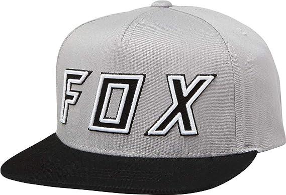 Fox Racing Gorra de Béisbol para Hombre (Talla unica, Gris ...