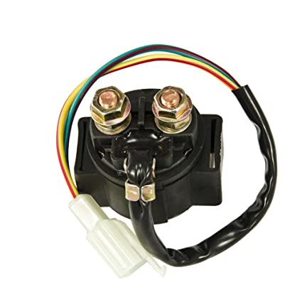 Amazon.com: Max Motosports Starter Solenoid Relay for Honda Goldwing on motorcycle wiring diagrams wiring, 2001 honda shadow wiring, 1987 honda shadow ignition wiring,