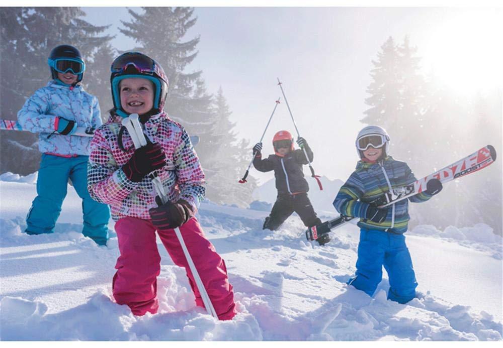 Z&X Mädchenskijacke und -Hose Winddicht und wasserdicht wasserdicht wasserdicht mit Schnee (mit Einem Mädchen-Schal) B07MR6B941 Bekleidung Elegant 83108f