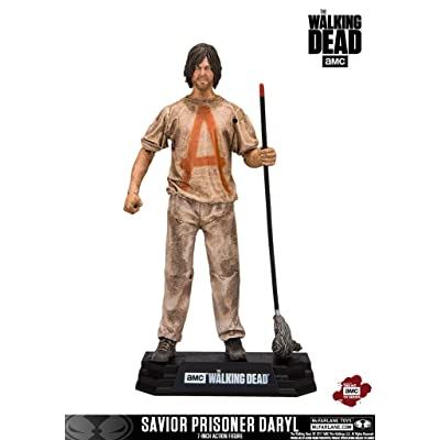 McFarlane Toys The Walking Dead TV Savior Prisoner Daryl Collectible Action Figure: Toys & Games