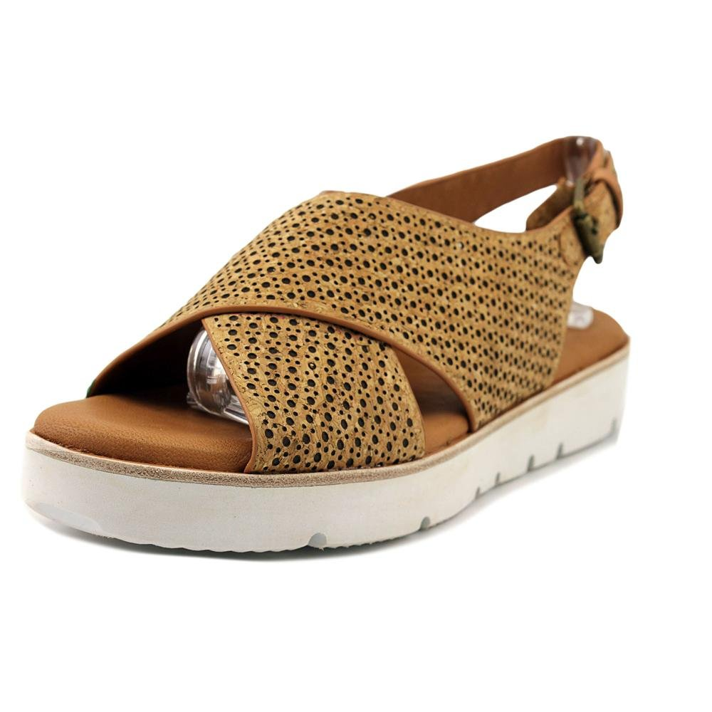 Gentle Souls Women's Kiki Platform Sandal, Natural Combo, 8 M US